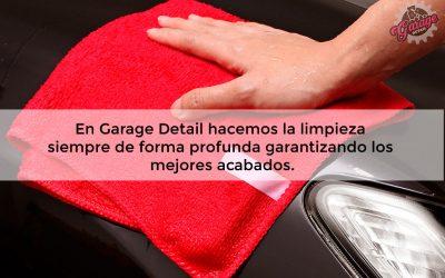 Limpieza integral de coches en Madrid