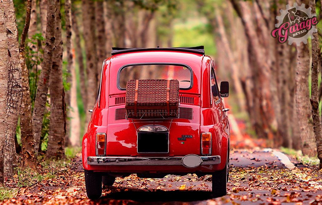 Detallado de coches clásicos