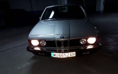 Venta de coche clásico BMW e23 732i