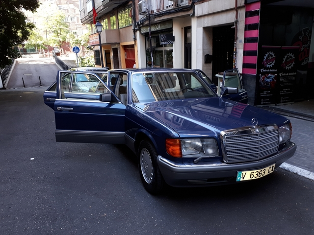 Comprar Mercedes 500 sel w126 segunda serie de 1984 de segunda mano